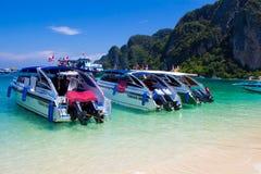 Rai Lay Beach Krabi Thailand, Mahya bay Royalty Free Stock Photos