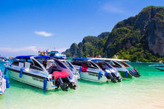 Rai Lay Beach Krabi Thailand, Mahya bay, Maya bay Royalty Free Stock Photo