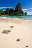 Rai Lay beach, south of  Thailand Royalty Free Stock Photo