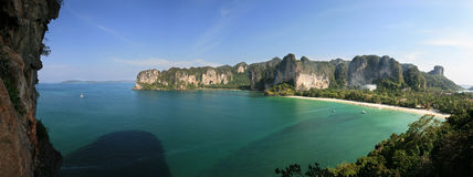Rai Lay peninsula Royalty Free Stock Photo