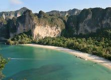 Rai Lay west beach Royalty Free Stock Photos