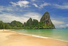Rai Le Praia Foto de Stock