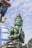 Rai Tailandia di Wat Rong Sua Ten Chiang Fotografia Stock Libera da Diritti