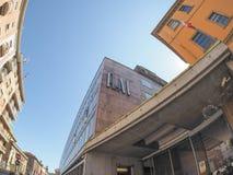 Rai Via Verdi in Turin Stock Photography