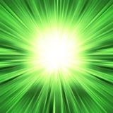 Raia colorida da explosão das luzes Fotografia de Stock