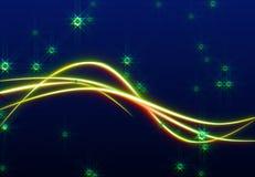 A raia dança no vento o fundo Imagens de Stock Royalty Free