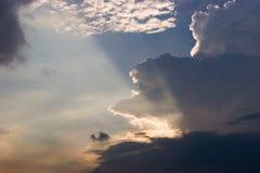 Raia de luz Imagem de Stock