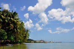 Raiarea, french polynesia Royalty Free Stock Image