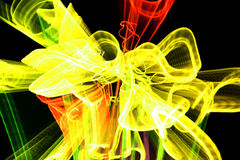 Raias aleatórias da luz Foto de Stock