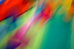 Raias da cor e borrões de movimento 1 Imagens de Stock Royalty Free