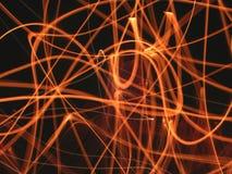Raias da flama Imagens de Stock