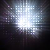 Raias da luz Fotografia de Stock