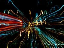 Raias da luz Fotos de Stock