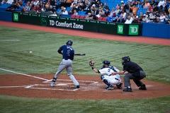 Raias de Tampa Bay em Toronto Blue Jays Foto de Stock