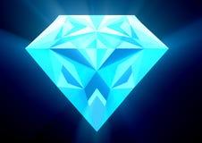 Raios do diamante foto de stock royalty free