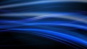 Raias do fundo abstrato claro azul do movimento imagens de stock