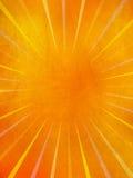 Raias do sol de Grunge fotos de stock royalty free