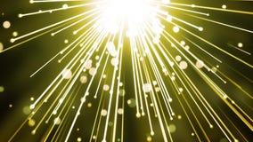 Raias gloriosas da partícula