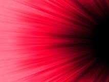 Raias luminosas vermelhas e pretas. EPS 8 Imagem de Stock