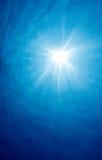 Raias subaquáticas de Sun Imagens de Stock
