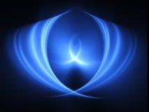 Raias transversais azuis ilustração do vetor