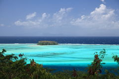 Raiatea Lagoon Royalty Free Stock Photos