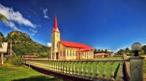 Raiatea, Polinesia francesa fotografía de archivo
