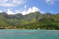Raiatea, Polinesia francese Immagine Stock