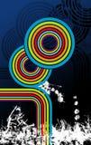 raibow конструкции Стоковая Фотография RF