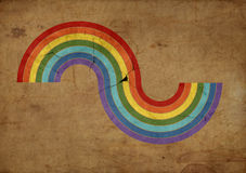 Raibow illustration Stock Photography