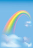 Raibow in the sky Stock Images