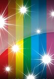 Raibow stars Stock Photo