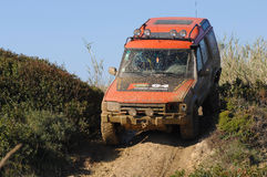 Raid 4X4 adventure race Stock Photo