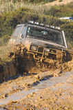 Raid 4X4 adventure race Stock Image