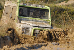 Raid 4X4 adventure race Royalty Free Stock Photos