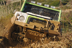 Raid 4X4 adventure race stock photography