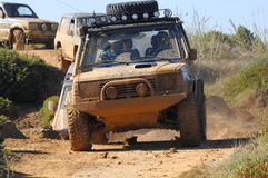 Raid 4X4 adventure race Royalty Free Stock Photography