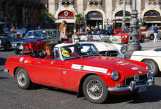 Raid Dell`Etna 2009 / Catania car parade Stock Photography
