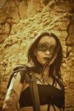 Raider abbastanza post-apocalittico Fotografia Stock