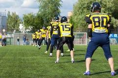 Raiders team. Nizhny Novgorod city. Russia Royalty Free Stock Photography