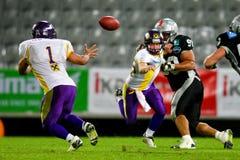 Raiders versus Vikingen Royalty-vrije Stock Foto's