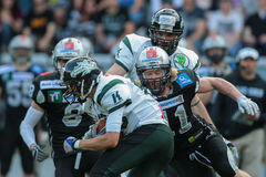 Raiders vs. Dragons Royalty Free Stock Images