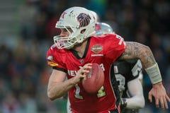 Raiders vs. Lions Royalty Free Stock Photo