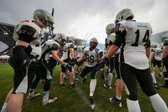 Raiders vs. Panthers Stock Image