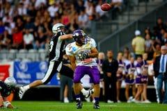 Raiders vs. Vikings Stock Images