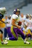 Raiders vs. Vikings Royalty Free Stock Photo