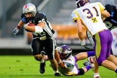 Raiders vs. Vikings Stock Image