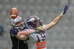 Raiders vs. Vikings Royalty Free Stock Photography