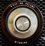 Raido knob stock image