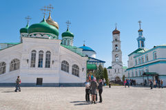 Raifa male Bogoroditssky Monastery. Tatarstan. Russia Royalty Free Stock Photography